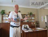 В Феодосии поэт Сергей Скорый встретился со своими слушателями (видео)
