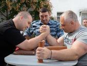 В симферопольском СИЗО прошел турнир по армрестлингу