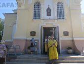 В Феодосию прибыл Морской Крестный ход (видео)