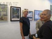 В музее Грина открылась выставка Елены Юшиной