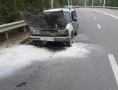 На дорогах Крыма вчера сгорели два автомобиля (фото)