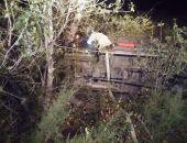 Ночью под Судаком автомобиль съехал с дороги и упал в кювет, пострадал пассажир