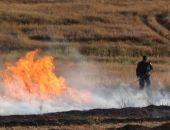 Сотрудники МЧС ликвидировали крупный степной пожар в Крыму (фото)