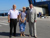 Пятимиллионным пассажиром Керченской паромной переправы стала жительница Феодосии