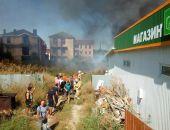 В Береговом под Феодосией горел магазин