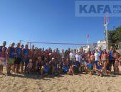 В Феодосии завершился осенний турнир по пляжному волейболу 2017 года