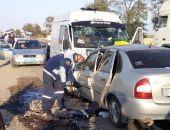 Сегодня в Крыму на трассе Симферополь – Феодосия «лоб-в-лоб» столкнулись два авто, погибли два человека (фото)