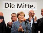В Германии на выборах победила партия канцлера Ангелы Меркель