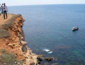 В Крыму иномарка сорвалась с обрыва в море, водитель погиб