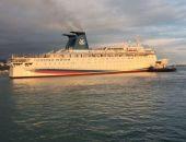 Девятипалубный круизный лайнер «Князь Владимир» не смог преодолеть крымский шторм