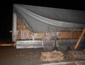В Крыму задержана «фура», перевозившая нелегальный спирт под видом макулатуры (фото)