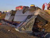 Под Керчью опрокинулся автобус, шедший в Феодосию, 13 человек госпитализировано
