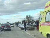 На трассе Симферополь - Джанкой разбился автомобиль, семеро пострадавших (видео)