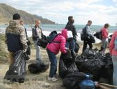 Лисью бухту очистили от мусора
