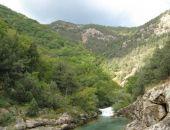 В Крыму в Чернореченском каньоне заблудились 40 туристов
