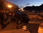 В Балаклаве джип съехал с набережной в пришвартованное у пирса судно (фото)