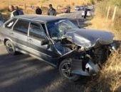 В Крыму близ Судака ДТП – автомобиль ВАЗ разбился о трактор ЮМЗ (фото)