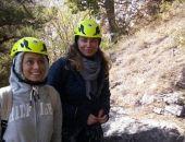 Спасатели «Крым-Спас» эвакуировали со скалы в районе Ялты двух московских туристок