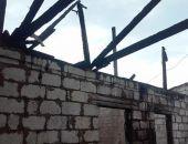 В селе Журавки Кировского района Крыма сгорел дом (фото)