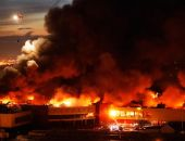 Вчера сгорели два рынка: в Подмосковье и в Ростове-на-Дону