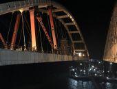 Автодорожная арка Крымского моста поднята на проектную высоту (фото)