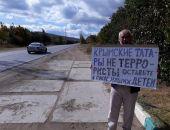 Вчера по всему Крыму прокатилась волна пикетов, 49 человек были задержаны полицией (фото)
