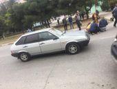 В Феодосии автомобиль сбил двух школьниц (фото) (дополнено)