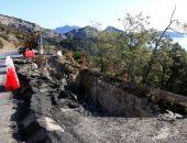 В Крыму начали ремонт аварийной дороги Судак – Новый Свет (фото)