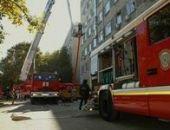 В Крыму короткое замыкание в холодильнике стало причиной пожара в поликлинике г.Ялта