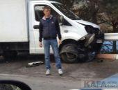 В Крыму «лоб-в-лоб» столкнулись ГАЗель и Daewoo Nexia (фото)