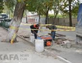 В Феодосии ремонтируют ливневки