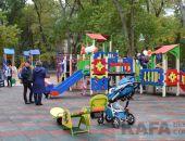Новую детскую площадку открыли и в Морсаду (видео)