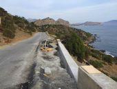 В Крыму ремонт дороги Судак – Новый Свет ведётся даже в ночное время (фото) (видео)