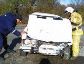 Вчера на трассе в районе Коктебеля ВАЗ въехал в Шевроле, пострадал пассажир