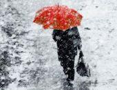 Сегодня в Крыму снова холодно, на большей части  полуострова снег, завтра потеплеет