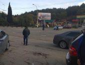 В Крыму сегодня полиция перекрыла выезд из Алушты в Симферополь