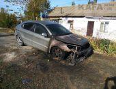 Под Феодосией сгорел еще один автомобиль