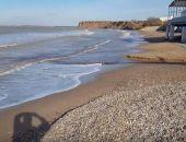 Море в крымских посёлках заливает гадкими нечистотами (видео)