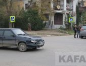 В Феодосии в районе чулочной фабрики произошло ДТП (фото)