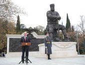 Путин в Крыму открыл памятник Александру III в Ливадии