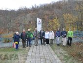 Турклуб «Карадаг» установил памятник погибшим партизанам:фоторепортаж