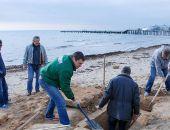 Крымчанин нашел на пляже в Евпатории древнегреческую могилу