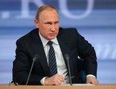 Работу Путина на посту президента россияне снова оценили на 7 по 10-балльной шкале