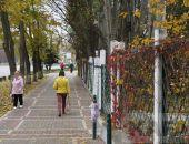 Прогулка по Феодосии: Симферопольское шоссе в будний ноябрьский день:фоторепортаж