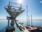 Опоры и пролёты автодорожной части Крымского моста готовы на 90%