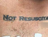 В США врачи не стали реанимировать пациента из-за татуировки
