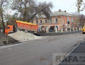 Идет реконструкция улицы Армянская (Тимирязева):фоторепортаж