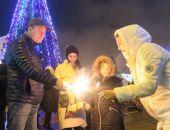 В Феодосии встретили Новый год 2018 (видео)