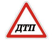 На трассе Феодосия – Керчь в пгт.Приморский Lada Priora столкнулась с опорой ЛЭП и опрокинулась