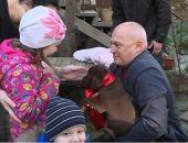 Ялтинской девочке подарили щенка лабрадора от Путина